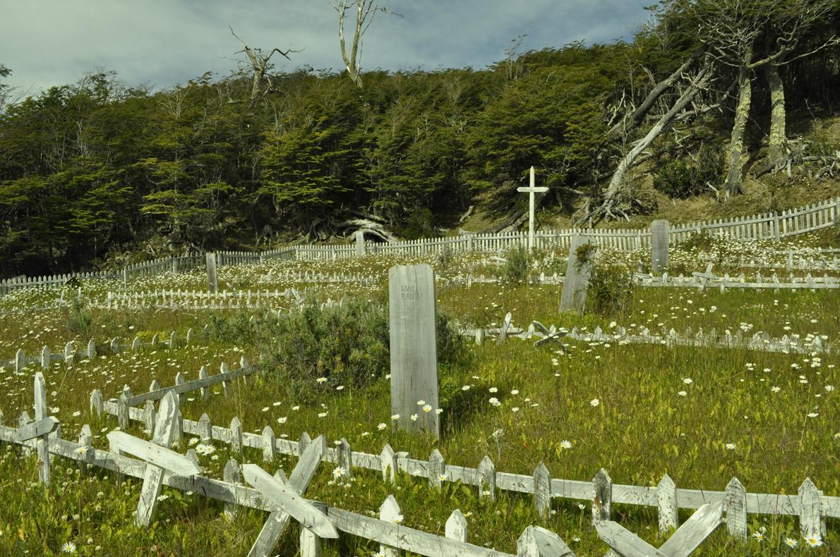 Το νεκροταφείο στον κόλπο Calleta Mejillones
