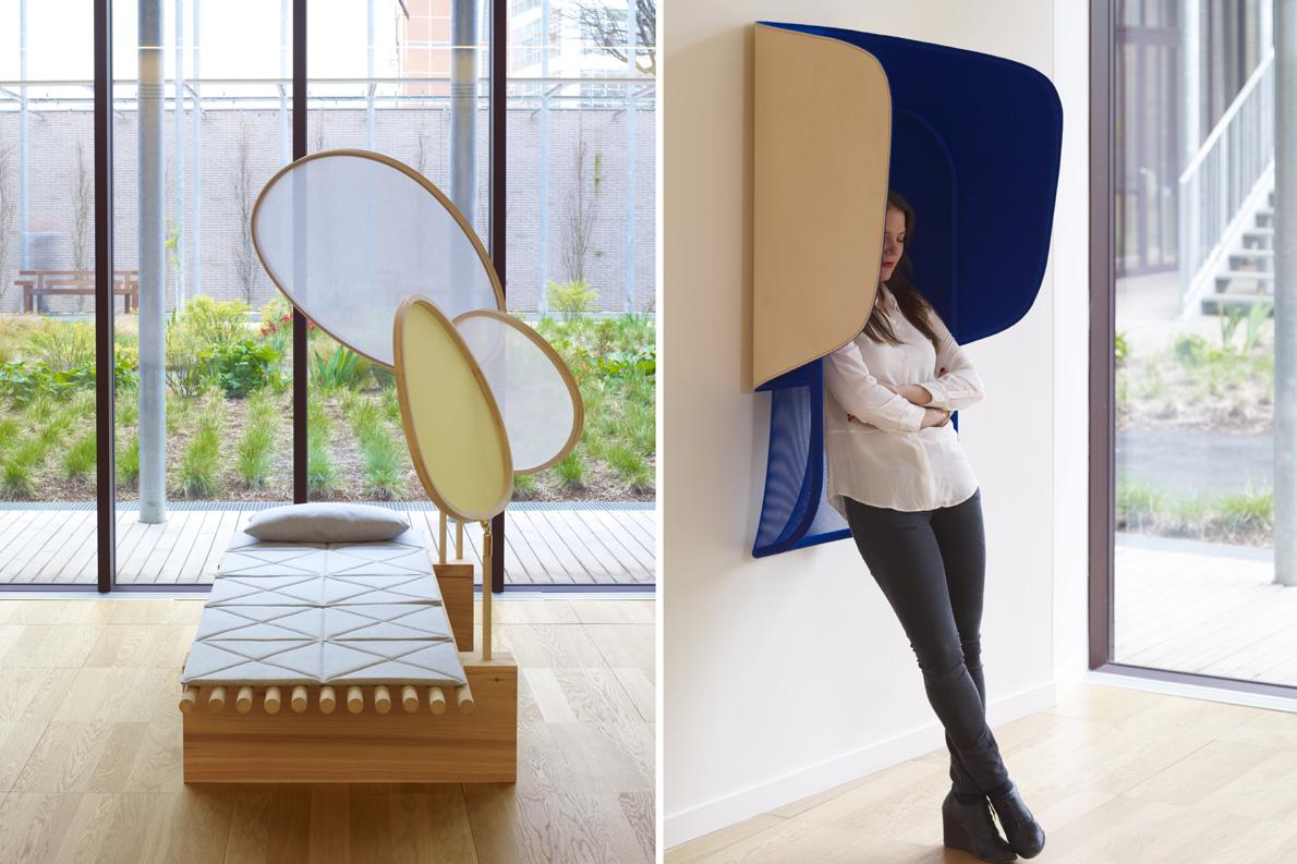 A space to think - Ania Rosinke /Hut - Antoine Lesur & Marc Venot