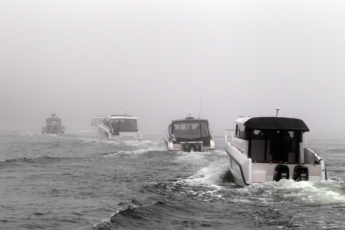 H ομίχλη είναι συνηθισμένο φαινόμενο χειμώνα και καλοκαίρι.