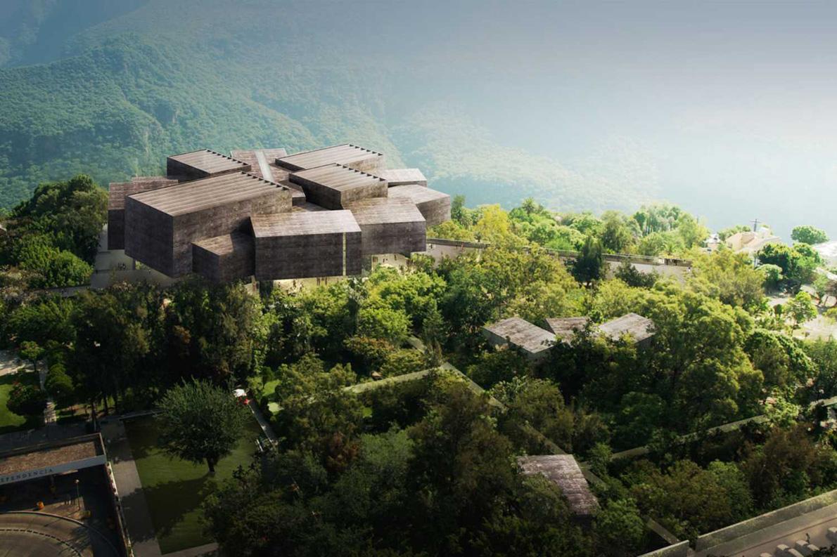 """""""Barranca Museum of Modern and Contemporary Art"""", αρχιτέκτονες: Herzog & de Meuron."""