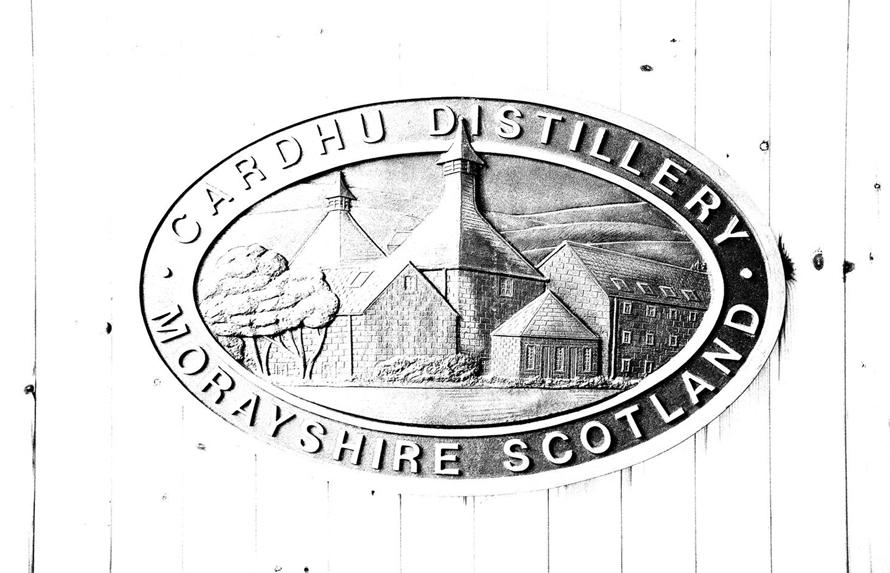 Cardhu - Distillery Sign-ok  2032da8e331