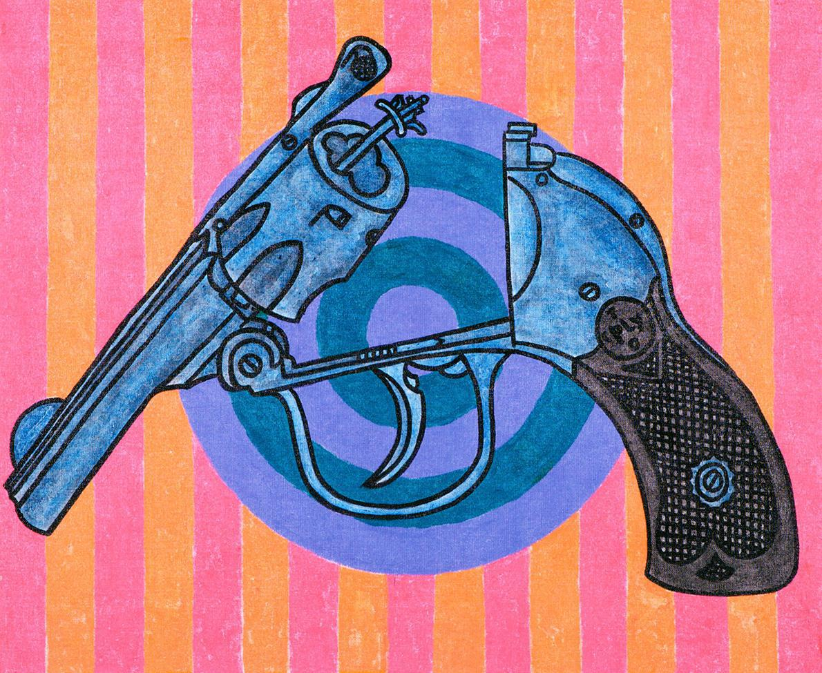Copley_Revolver and Target