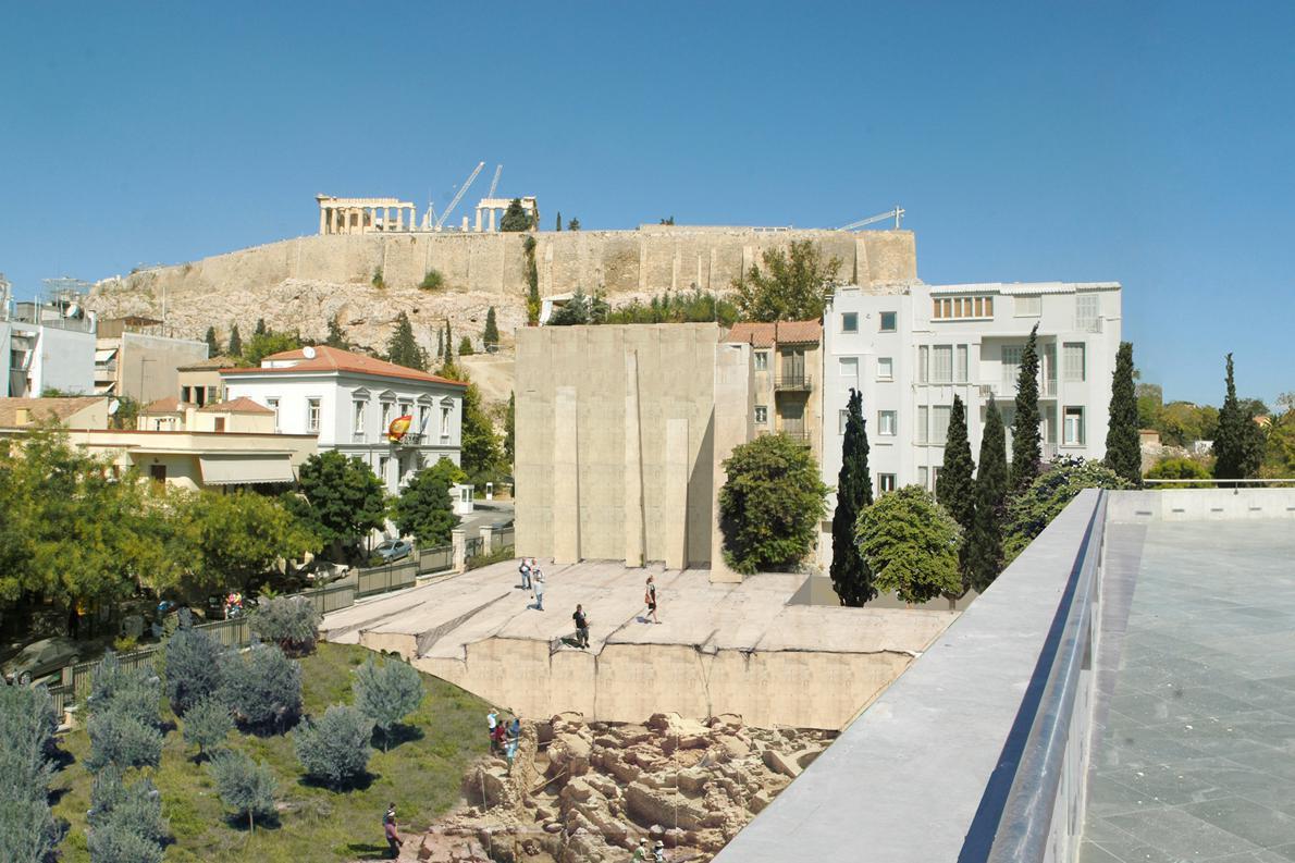 1ο βραβείο διεθνούς διαγωνισμού «Δ. Αρεοπαγίτου 2008: Αντιμετώπιση των πίσω όψεων των διατηρητέων κτιρίων επί της Δ. Αρεοπαγίτου 17 και 19» | Αρχιτεκτονική Τοπίου και Αστικός Σχεδιασμός