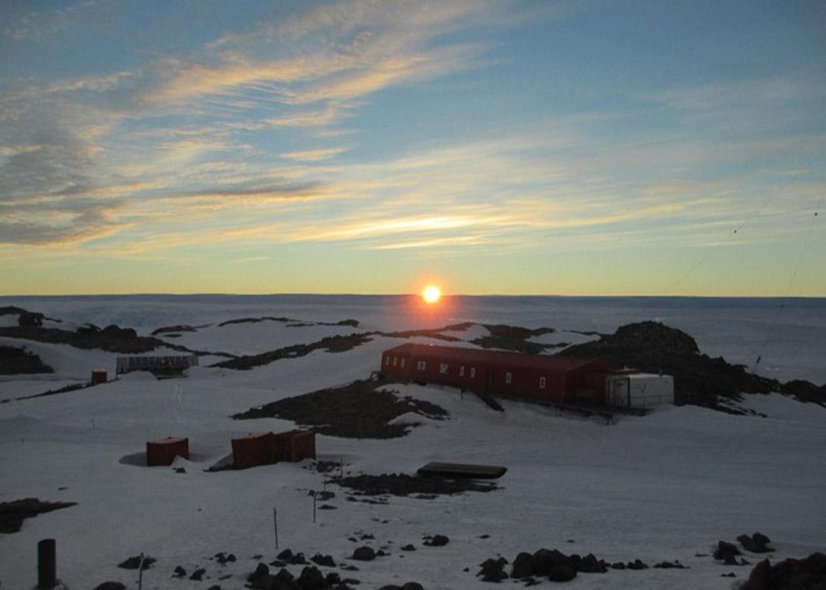 DDU sunset