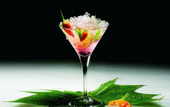Spicy Martini με μαστίχα, από τον Νεκτάριο Ντάλλα