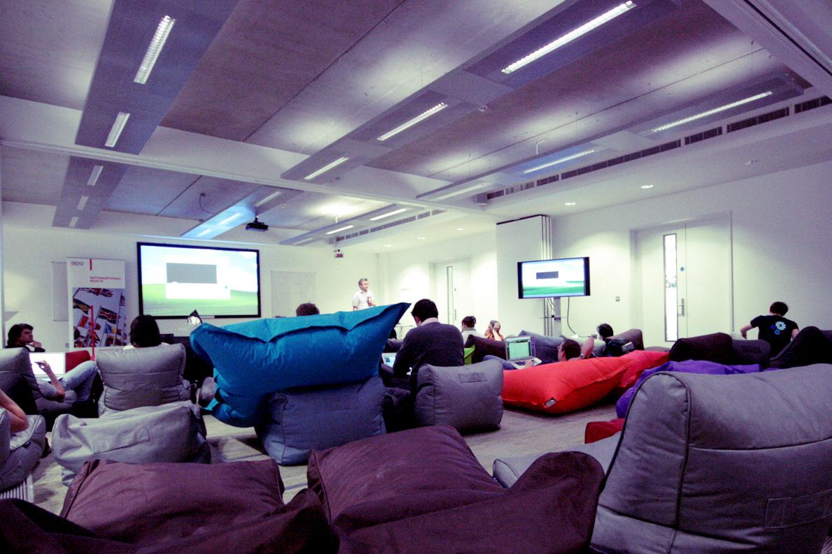 IdeaSpace του Cambridge Photo Credit: Daniel Morris/flickr