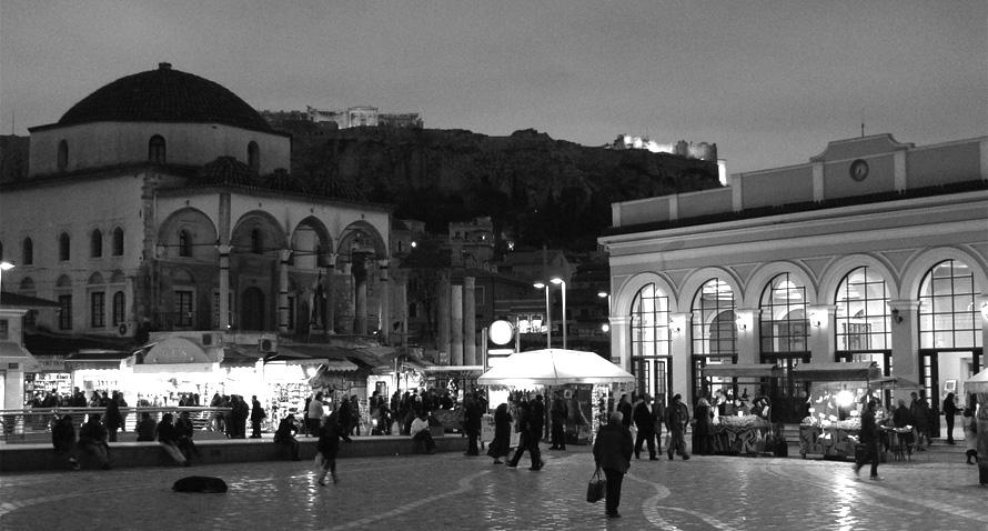 Μοναστηράκι, Αθήνα. Photo Credit: DanielZolli/flickr