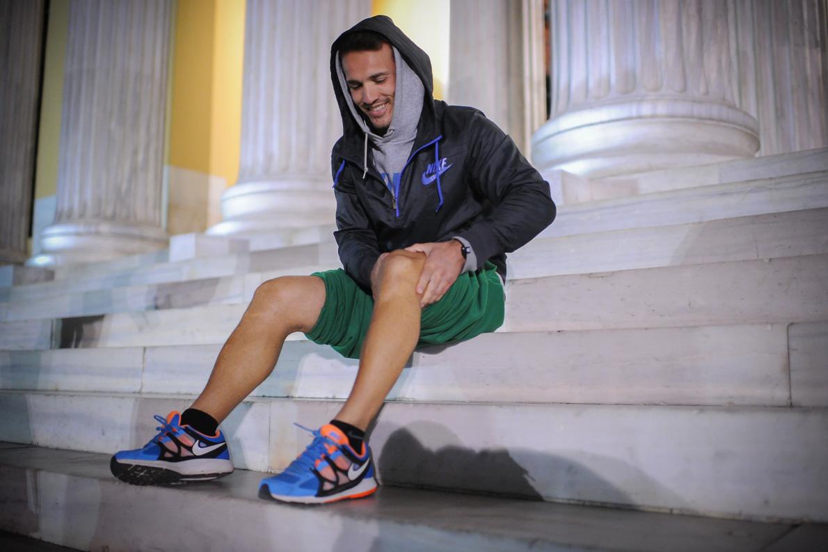 «Από τα 6 μου ασχολούμαι με τον αθλητισμό ‒και για αρκετά χρόνια με τον πρωταθλητισμό (από τα 14 μέχρι τα 22). Από τότε έως σήμερα, που είμαι 33 ετών, δεν έχω σταματήσει ποτέ να αθλούμαι».