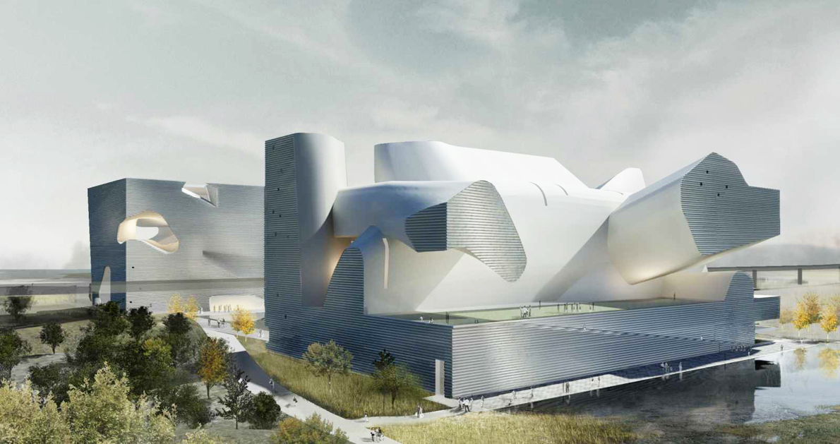 """""""Tianjin Ecocity, Ecology and Planning Museum"""", του αρχιτέκτονα Steven Holl."""