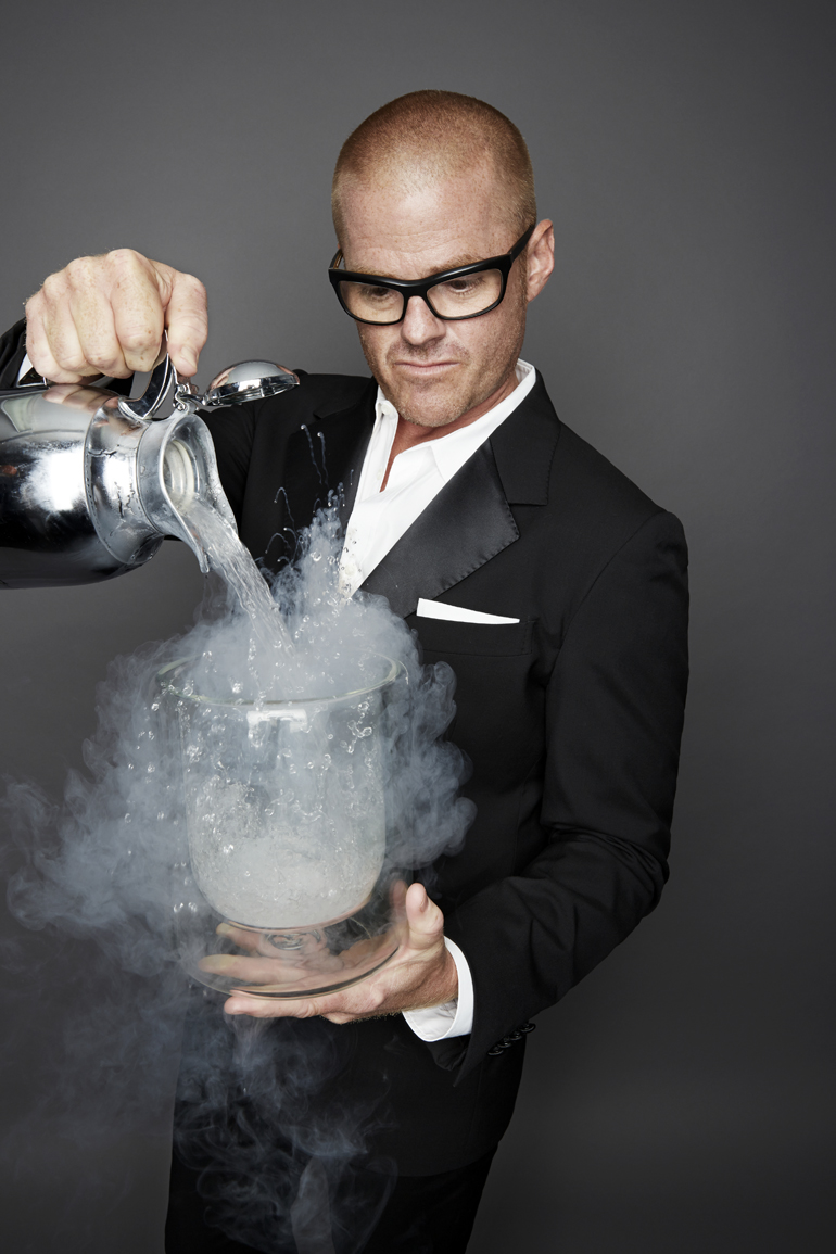 Heston Blumenthal Photo Credit: Alisa-Connan