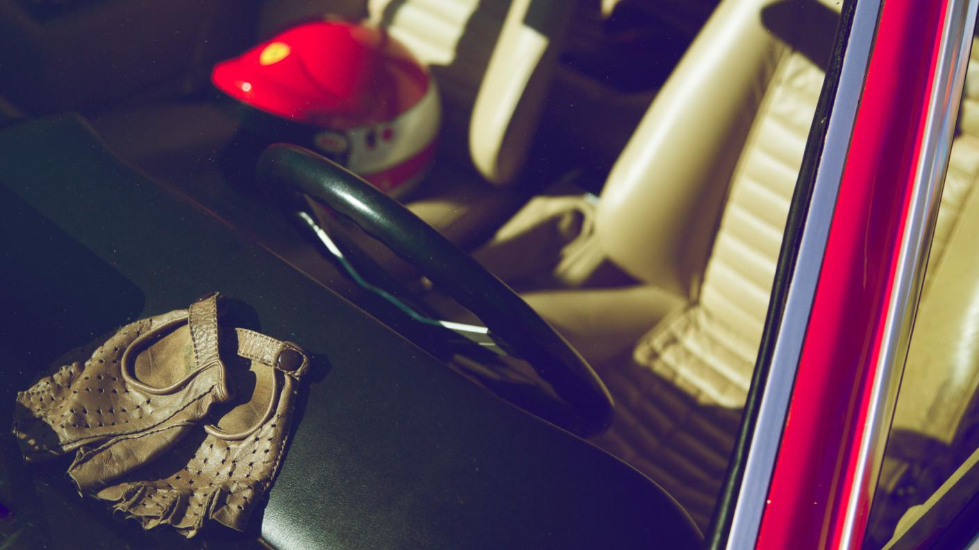 Ferrari Dino 308 GT4 του 1974. Ιδιοκτητης Λυμπέρης Παπάζογλου