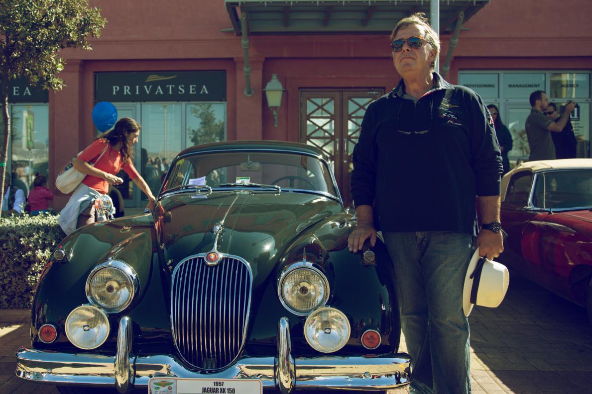 1957 Jaguar XK150 Fixed Head Coupe του Ανδρέα Καροτσιέρη