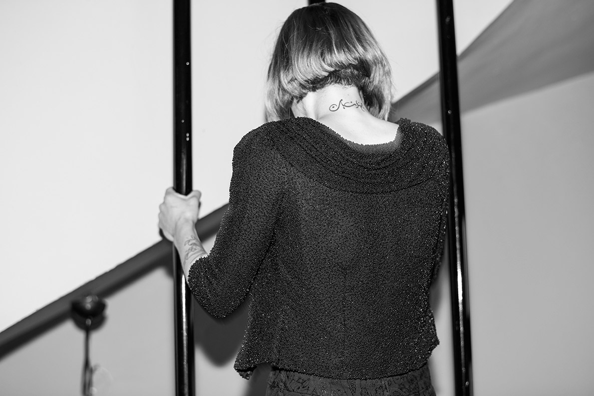 Jacket - Anna's own, Jeans - The Seafearer (Collective Stores - Psyhiko).