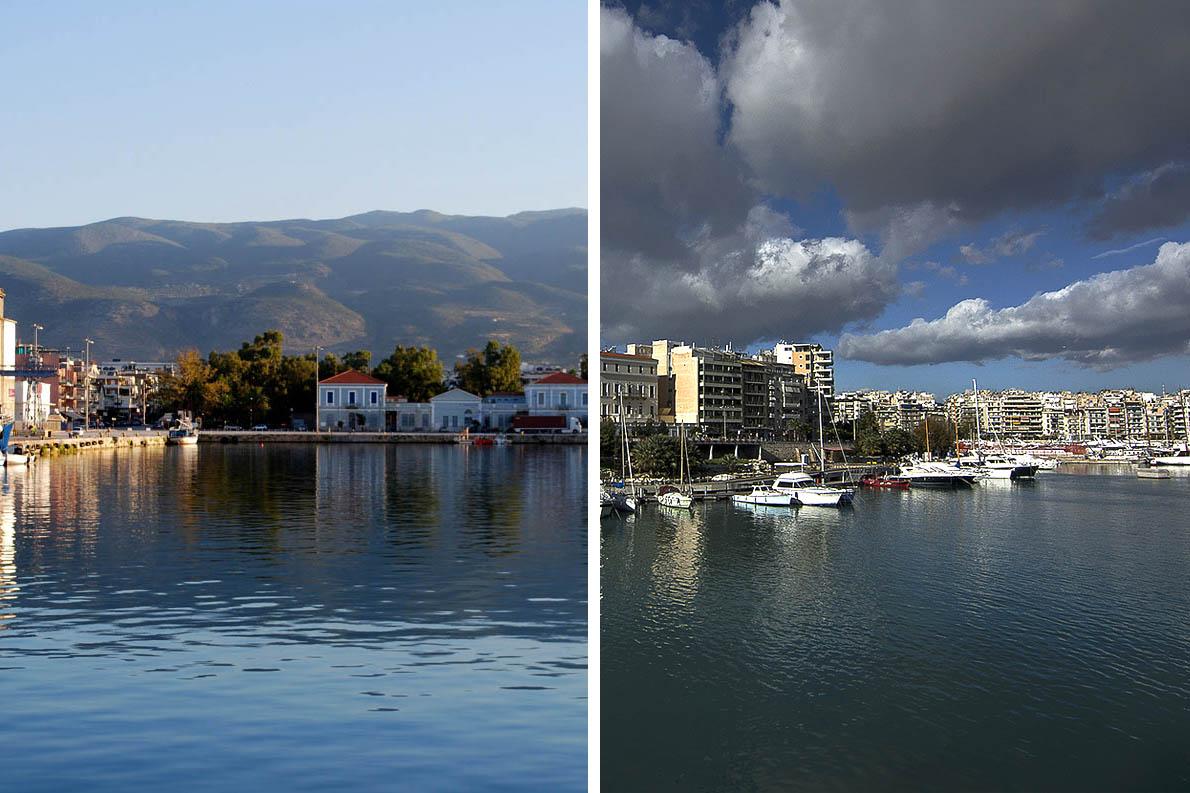 «Από της Καλαμάτας το μικρό έδεσα στο Μεγάλο το Λιμάνι». Φωτό: Kostas Menounos/flick, Dimosthenis Michalopoulos/flickr