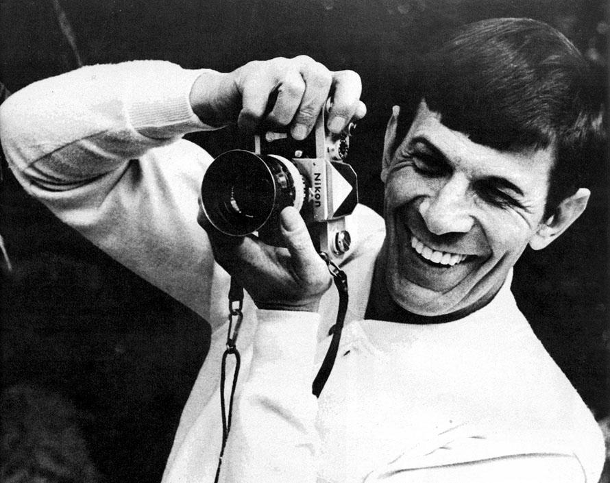 Leonard-Nimoy-photographer