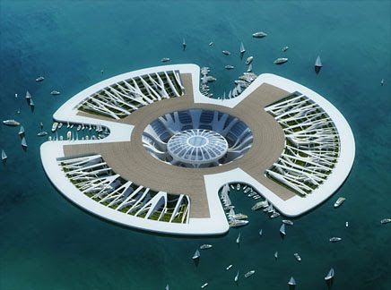 Lilypad by Vincent Callebaut 04