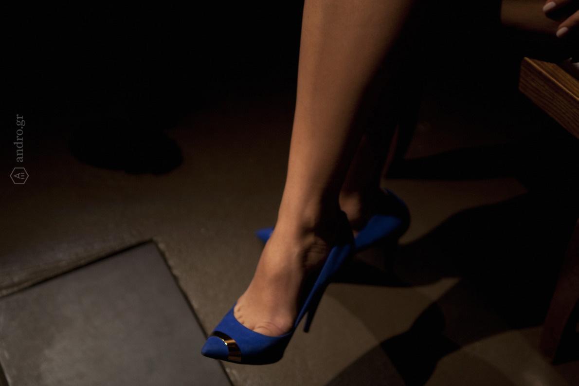 Παπούτσια Giuseppe Zanotti, Καλογήρου.