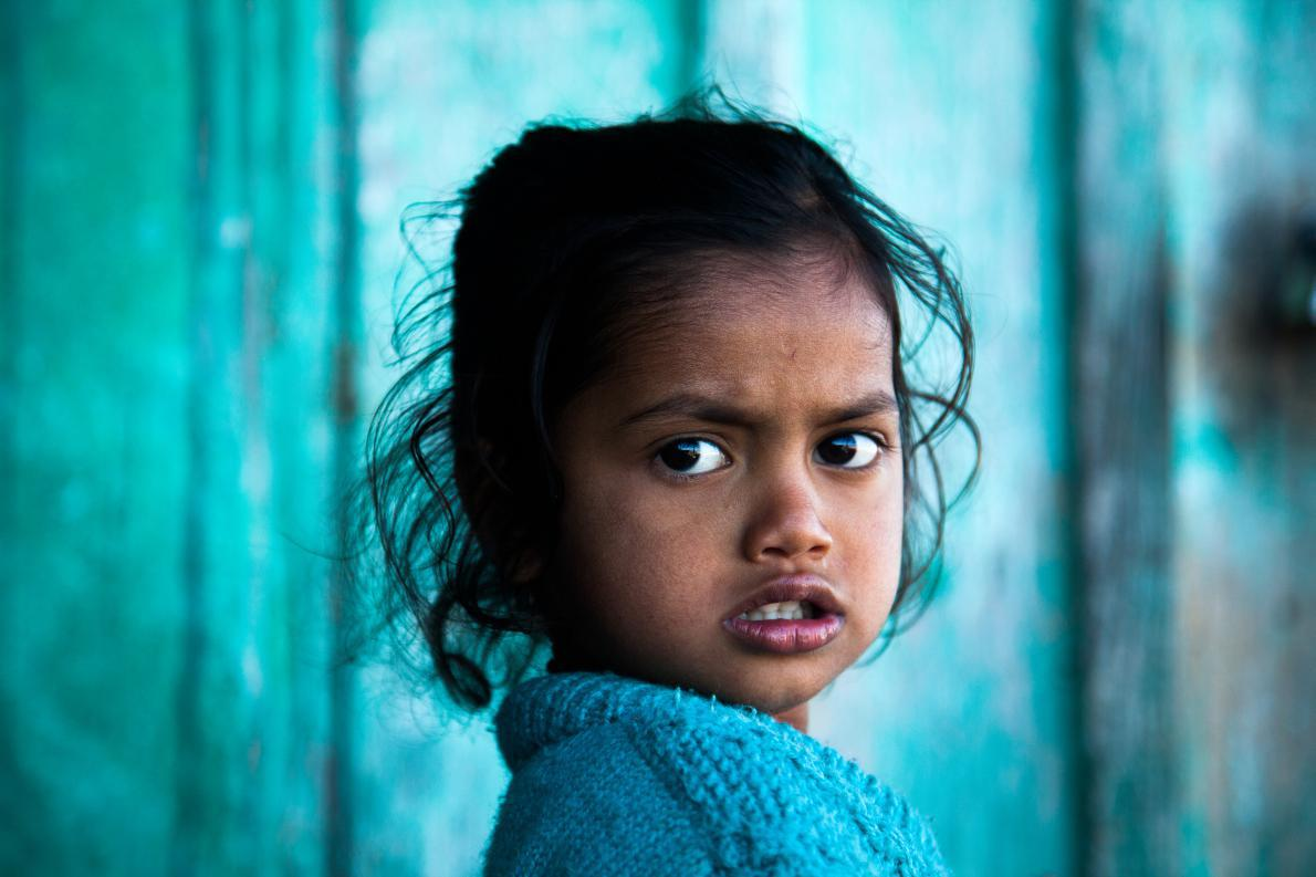 Πορτραίτο στο Darjeeling τις Ινδιας.
