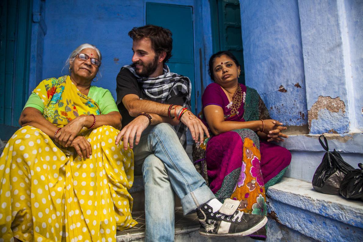 """Με τις """"φίλες"""" μου στην μπλέ πόλη. Jodpur, Ινδία"""