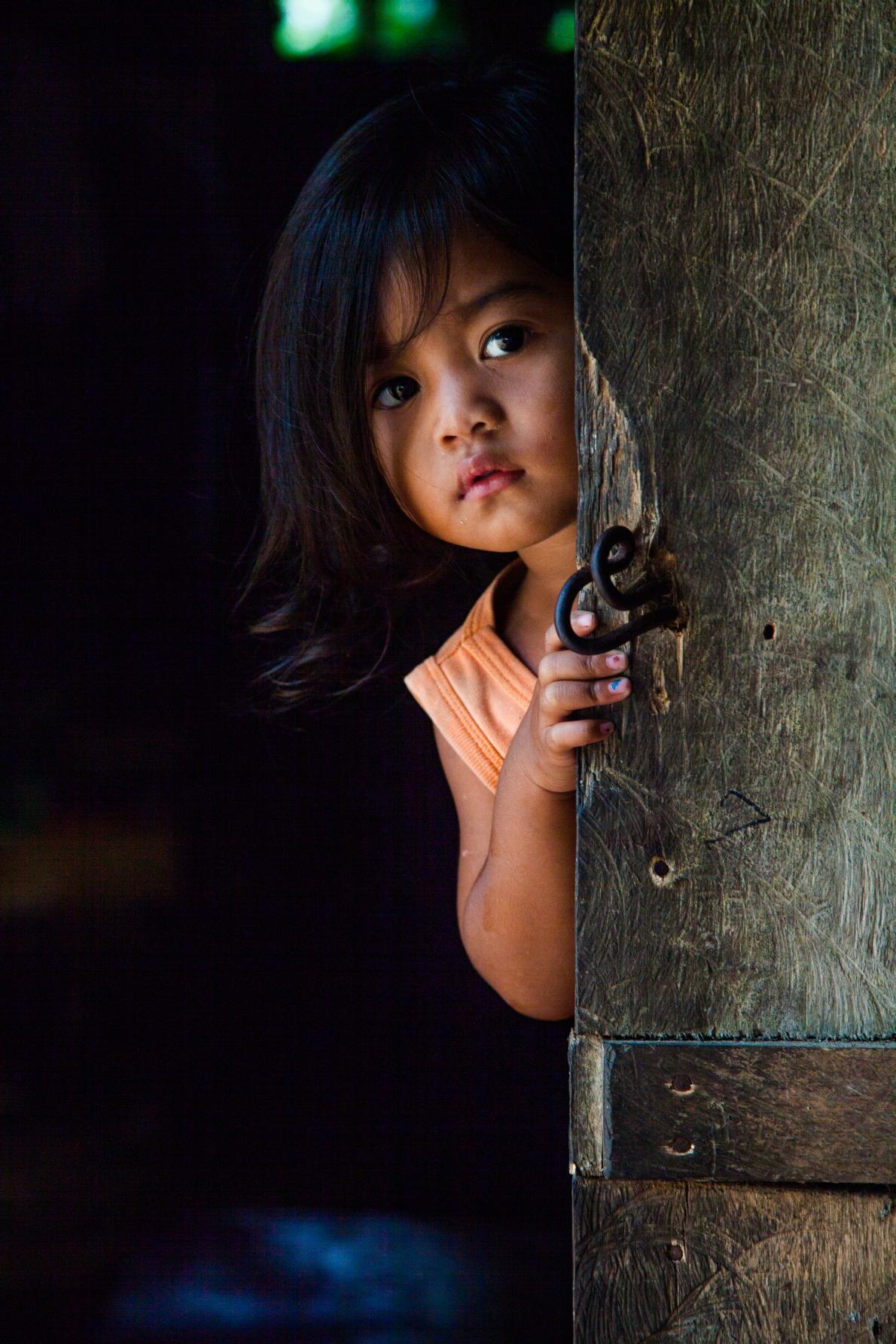 Το πορταίτο της μικρής απο την Kαμπότζη