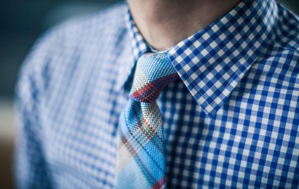 Ποιες γραβάτες με τα καρό μου πουκάμισα;