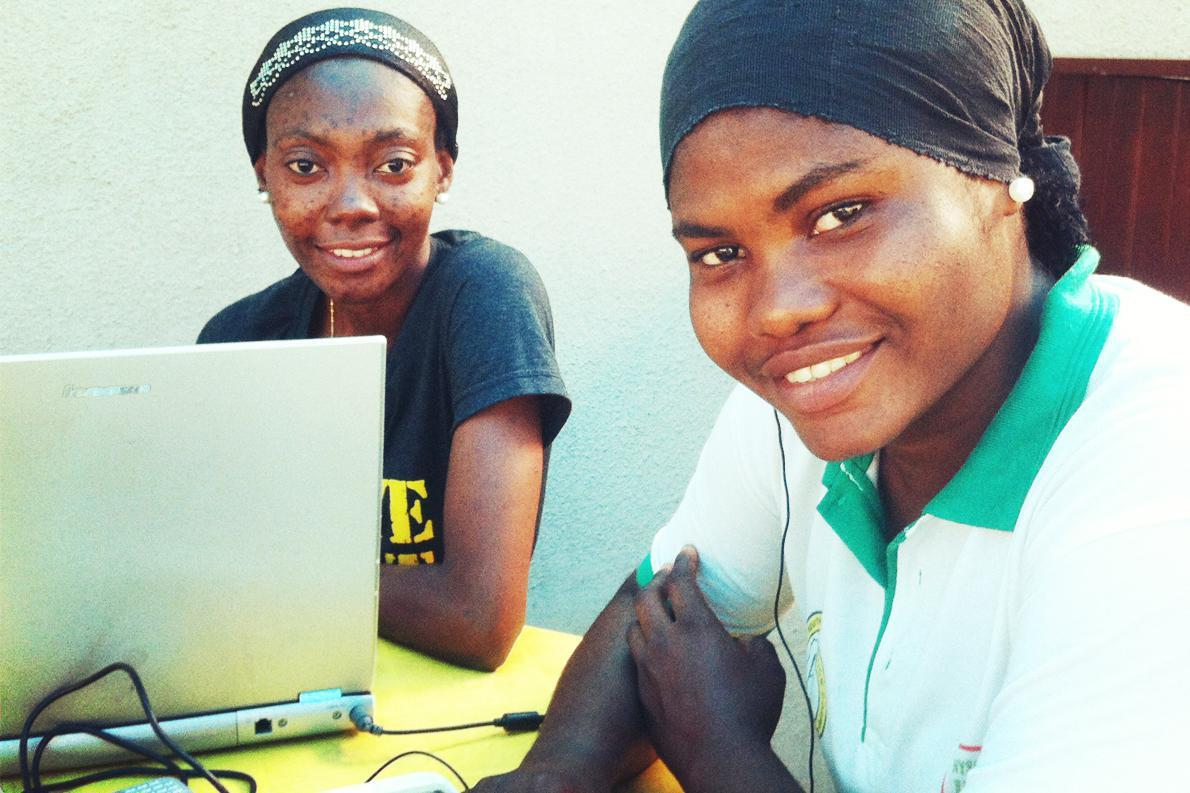 MariamAndUche-a statistician and a software developer in Lagosby DFID-UK Department for International Development