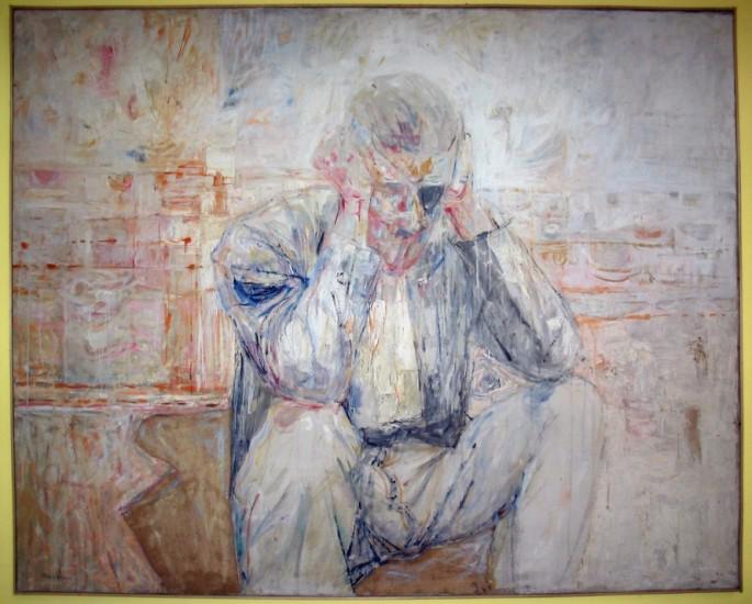 James Joyce Portrait Basil Blackshaw, 1962 @ the Dublin Writers museum, Matthew Willson/Flickr