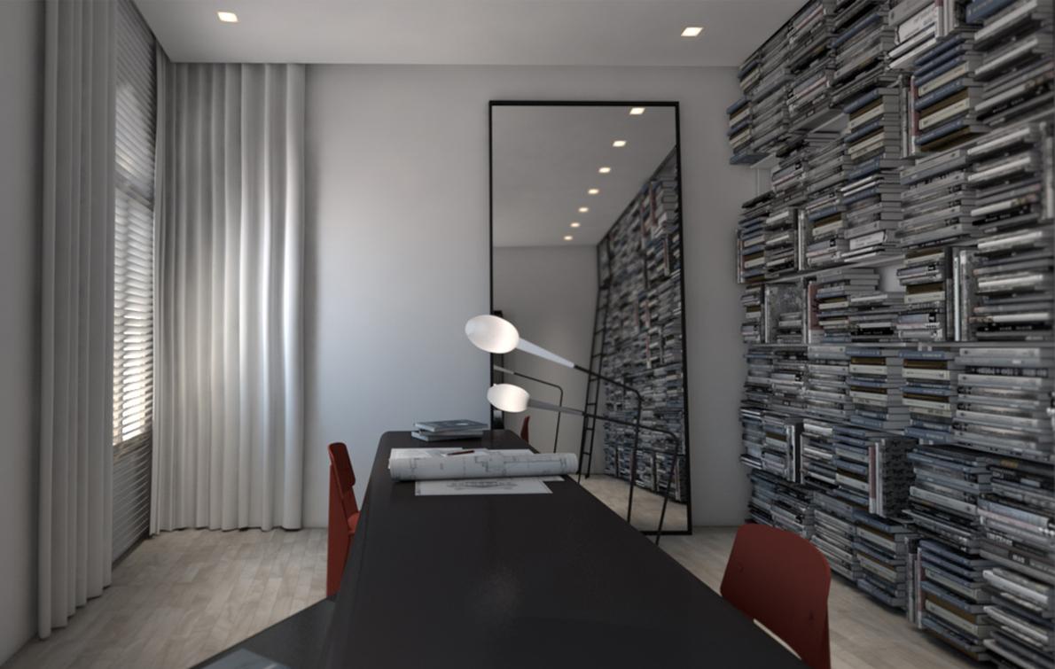 Ένα από τα projects που «τρέχει» αυτή τη στιγμή είναι η αναπαλαίωση μιας κατοικίας στη Βενετία, η οποία βρίσκεται επί του Grand Canal.