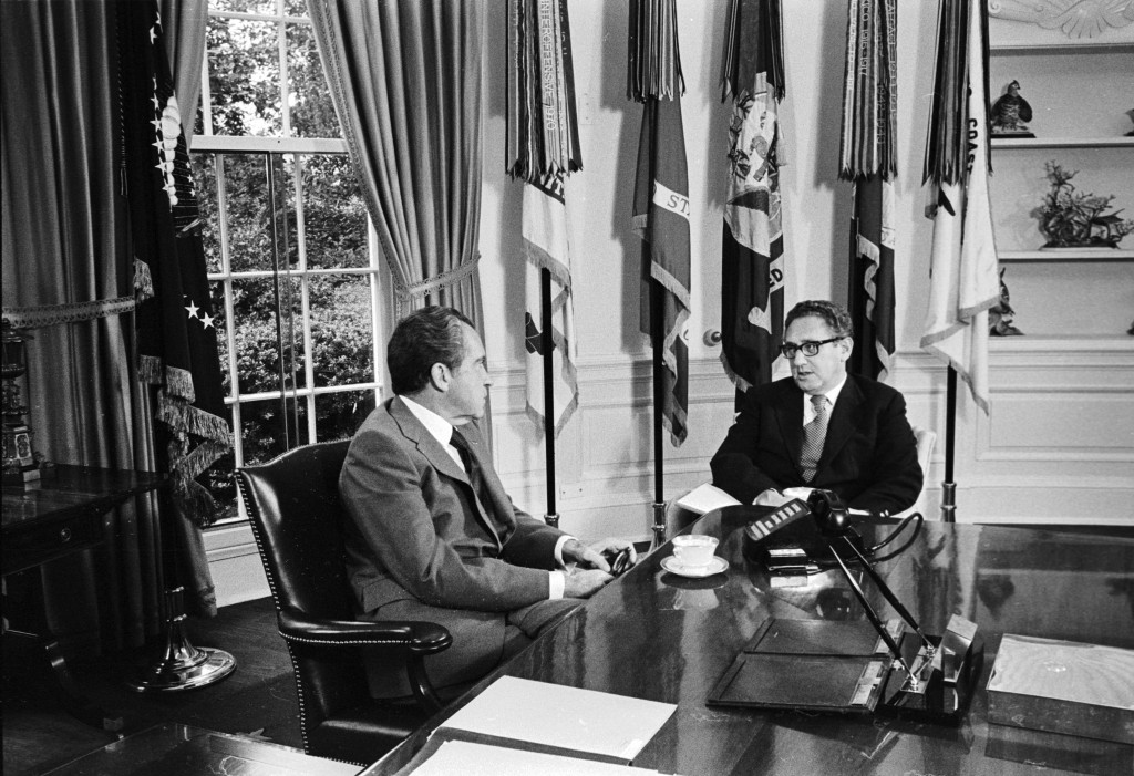 Nixon_and_Kissinger Photo Credit: Flickr/The_Central Intelligence