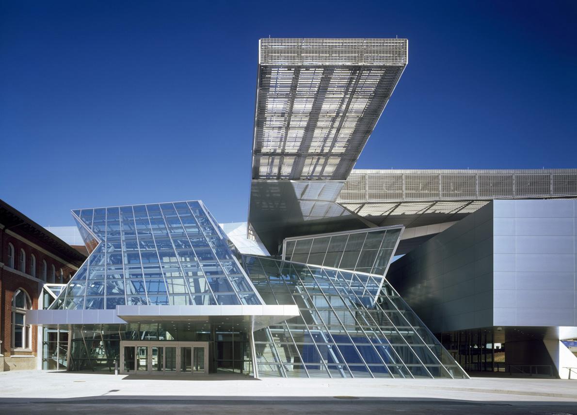 Akron Art Museum, αρχιτέκτονες: Coop Himmelb(l)au