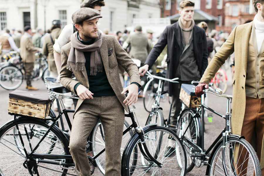 Απο το Tweed Run 2013. Photo Credit: Parkandcube.com