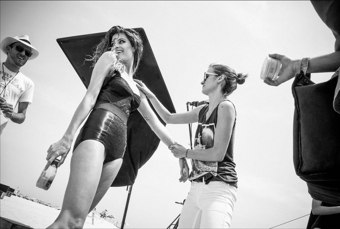Patrick Demarchelier& Peter Lindbergh for Pirelli Calendar 2014 Behind the Scenes-002