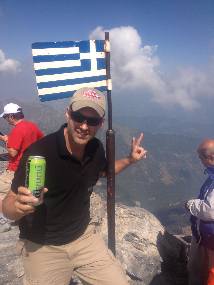 Peak of Mt. Olympus Tuvunu