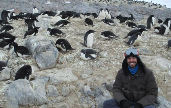 Αδριανός Γολέμης: Ένας Έλληνας στην Ανταρκτική για τον Ευρωπαϊκό Οργανισμό Διαστήματος