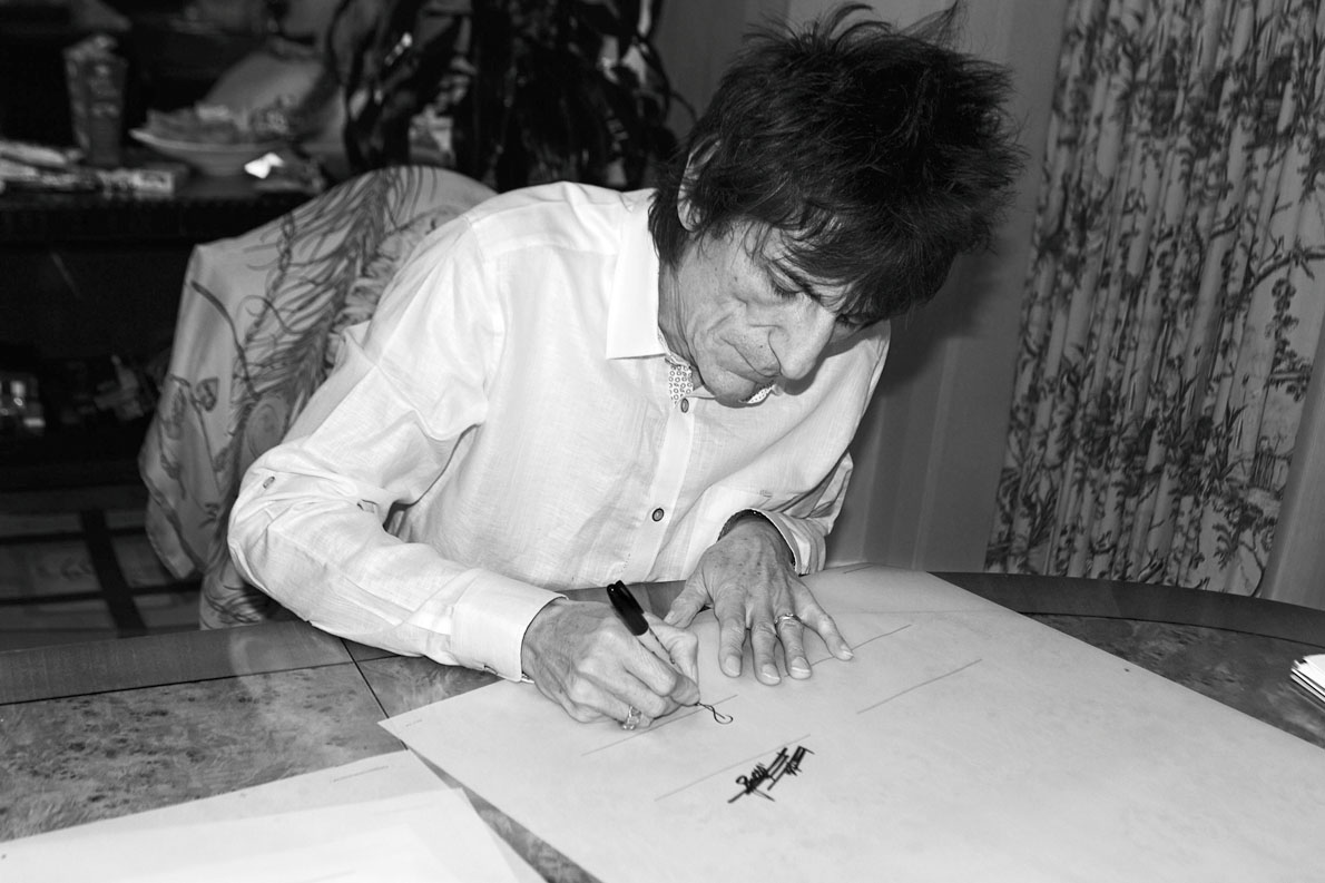 Ron Wood, Philadelphia 2013, by Jane Rose