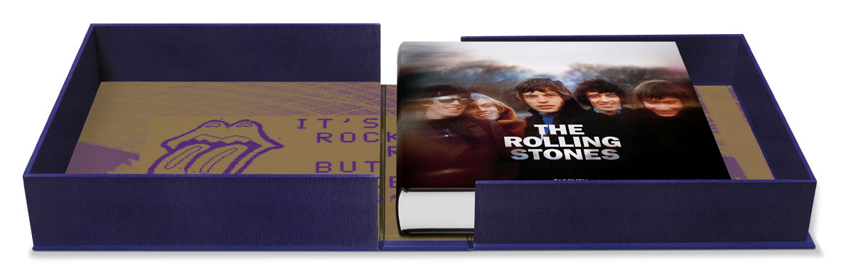 Hardcover in clamshell box