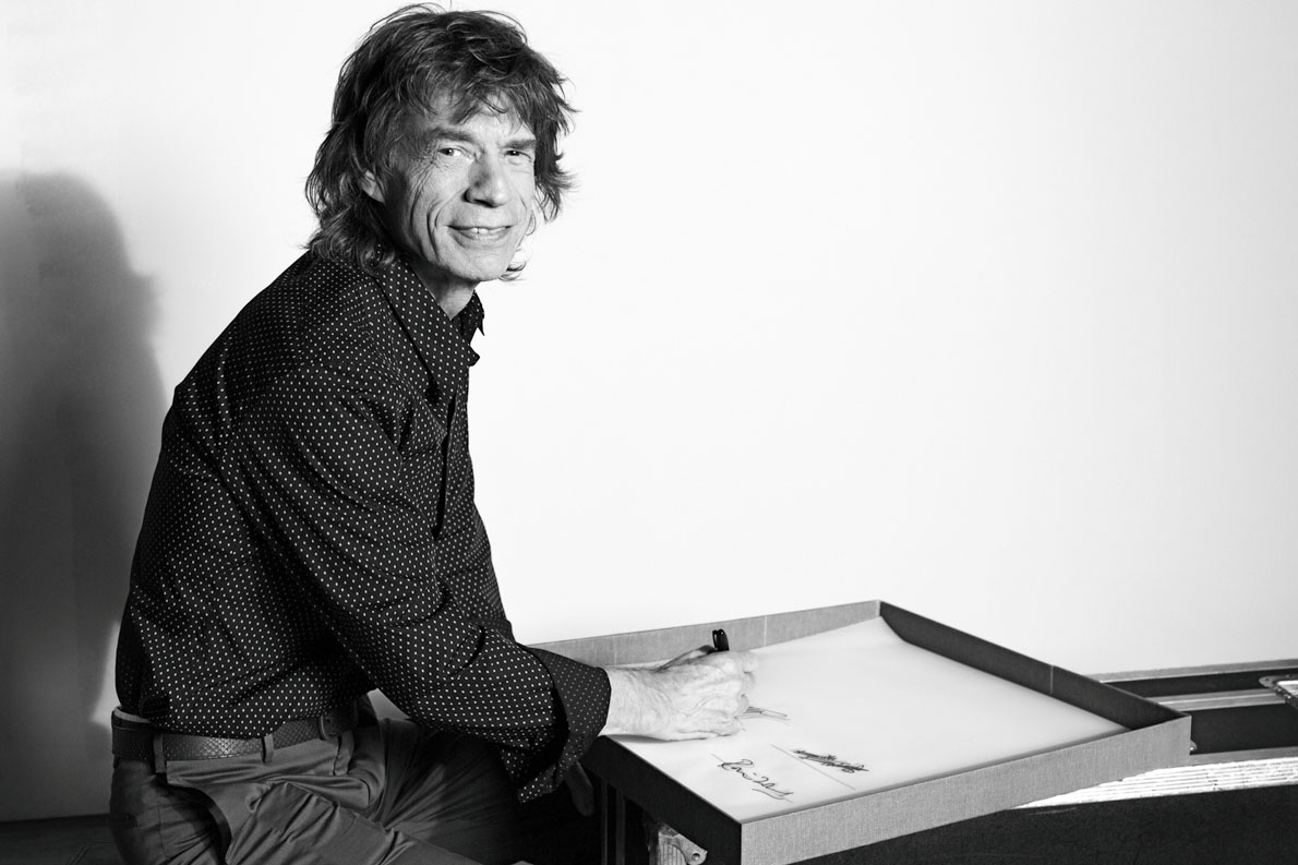 Mick Jagger, New York, 2014