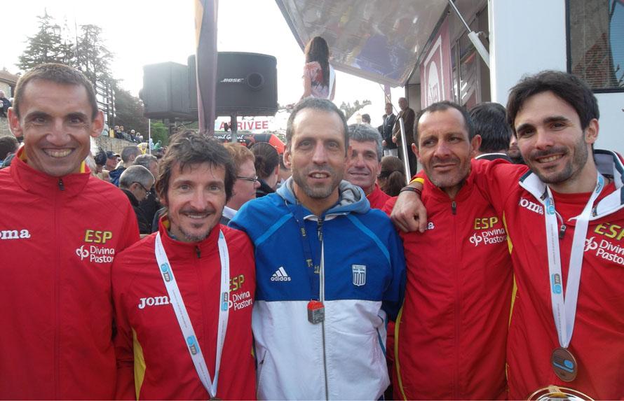 Ανάμεσα στους νικητές του αγώνα στο Belves της Γαλλίας, Πανευρωπαϊκό Πρωτάθλημα 2013.