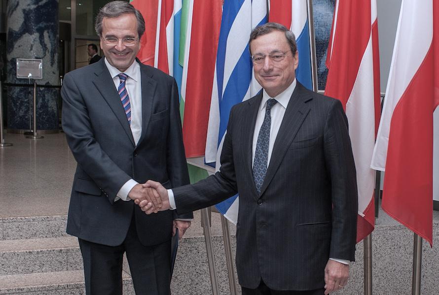 Samaras Draghi