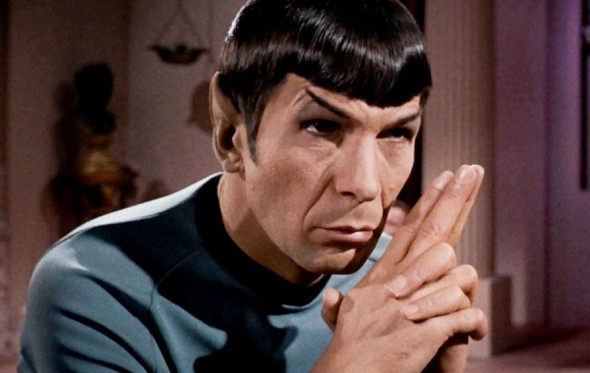 Farewell, Mr. Spock!