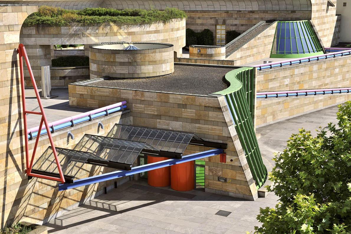 Κρατική Πινακοθήκη Στουτγάρδης, αρχιτέκτων: James Stirling