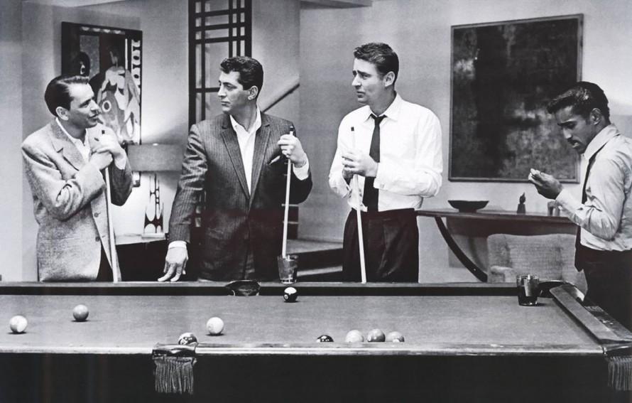 «Rat Pack»: Ο Φράνκι, ο Ντιν, ο Τζόι και ο Σάμι. Ή η ζωή των ανδρών με στυλ.