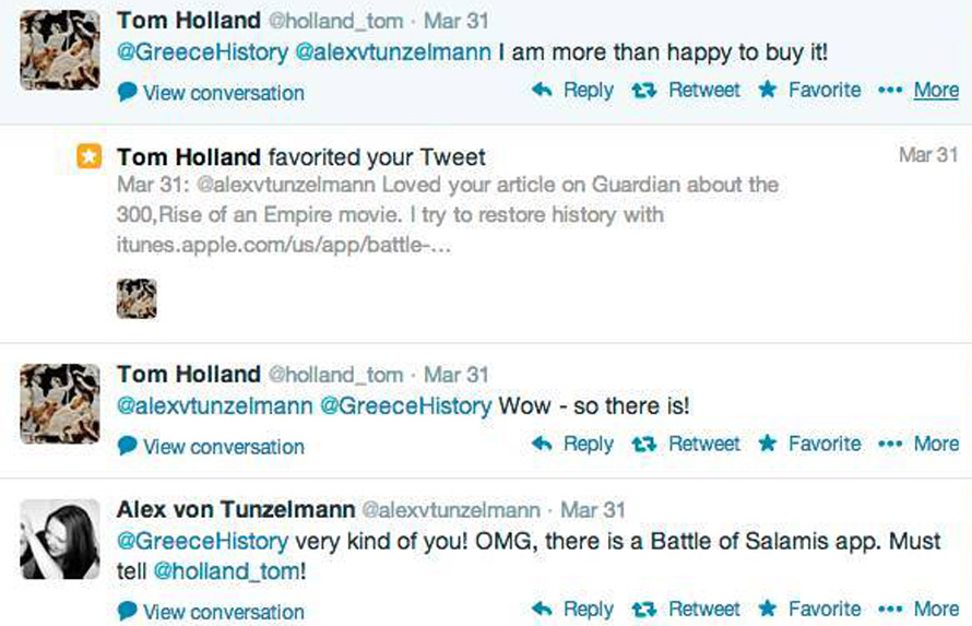 Tom Holland Twit