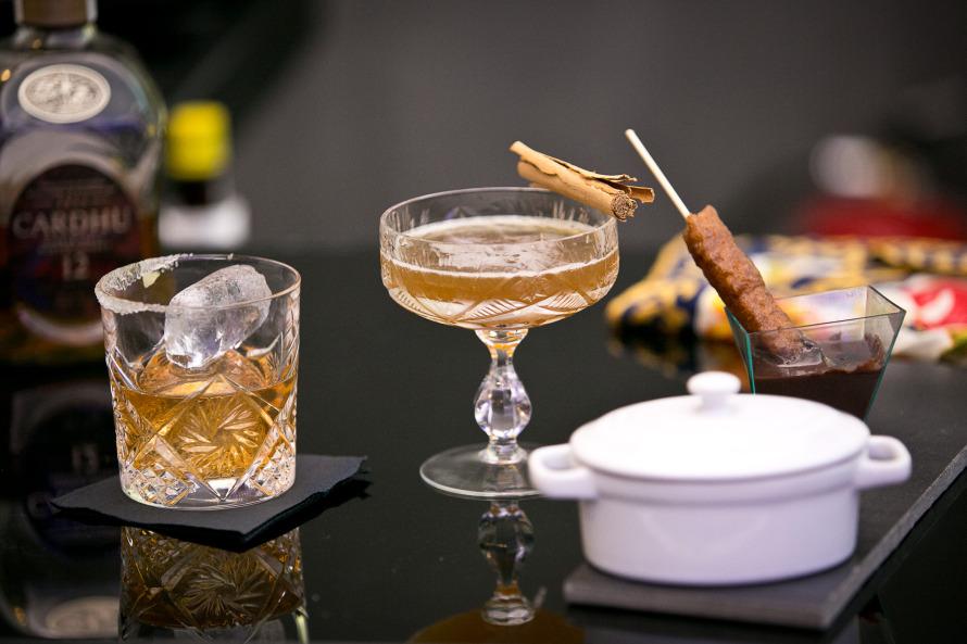 Τα κοκτέιλ του Αλεχάνδρο Γκικόπουλου στο Bartender, bar chef challenge. Ανάμεσά τους και το «Shepherds Companion».
