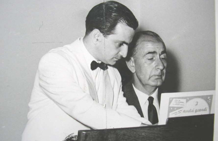 Ο Γιάννης Νικολαϊδης με τον Κώστα Γιαννίδη