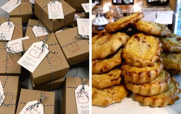 Α λα γκρεκ: Φρέσκες πίτες και καλούδια από την Κρήτη