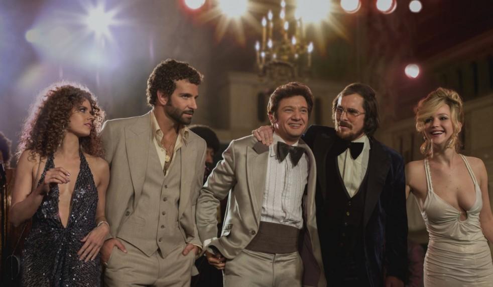 Amy Adams, Bradley Cooper, Jeremy Renner, Christian Bale, Jennifer Lawrence