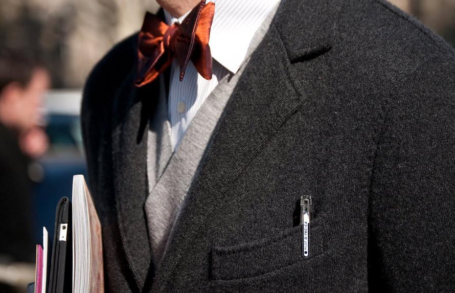 angelo-flaccavento-burnt-orange-satin-bow-tie