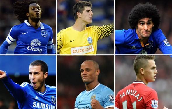 Kι όμως, οι Βέλγοι είναι οι πιο ακριβoπληρωμένοι ποδοσφαιριστές