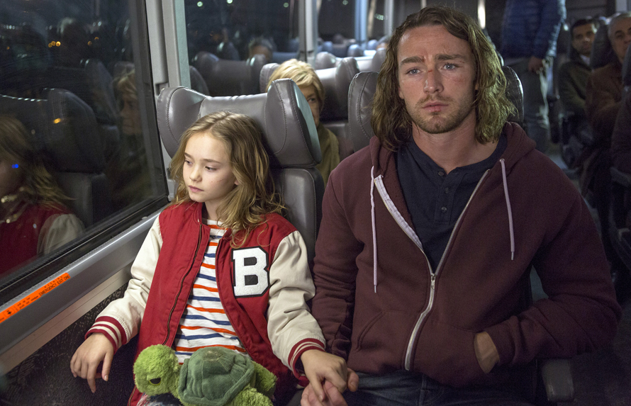 Johnny Sequoyah as Bo, Jake McLaughlin as Tate -- Photo Credit: Eric Liebowitz/NBC
